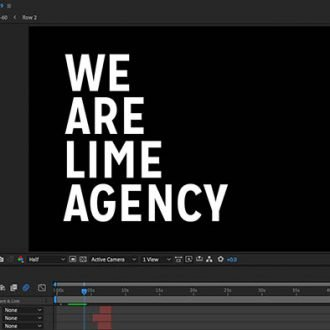 Creating our first showreel