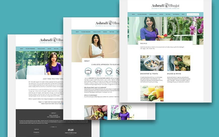 Ashrafi Bhagat Website