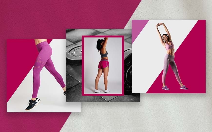 Beachbody Gear Social Media Design