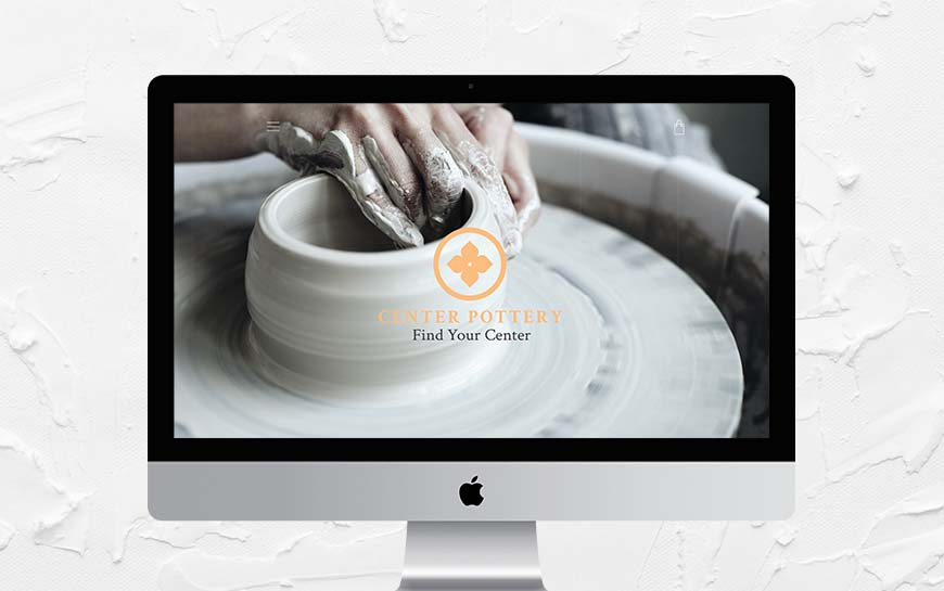 Center Pottery Website
