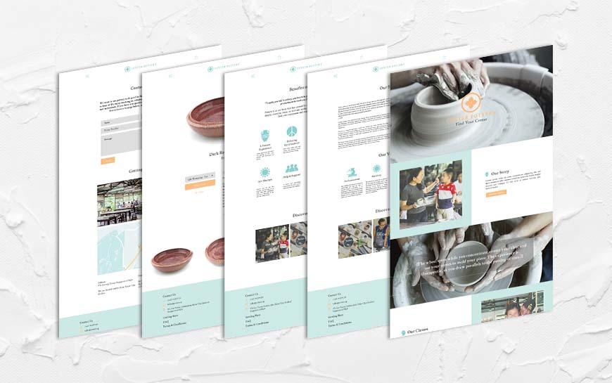 Center Pottery Website