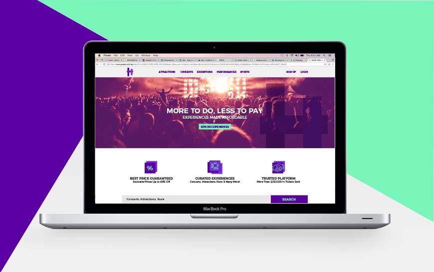 Hapz Website Design