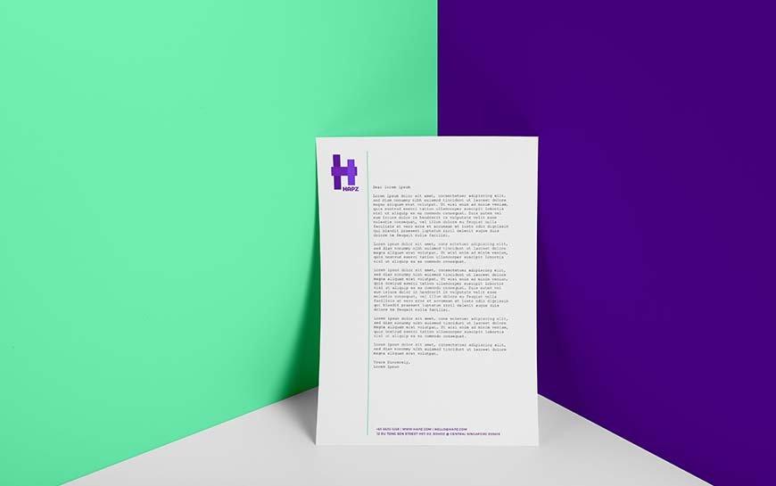 Hapz Letterhead