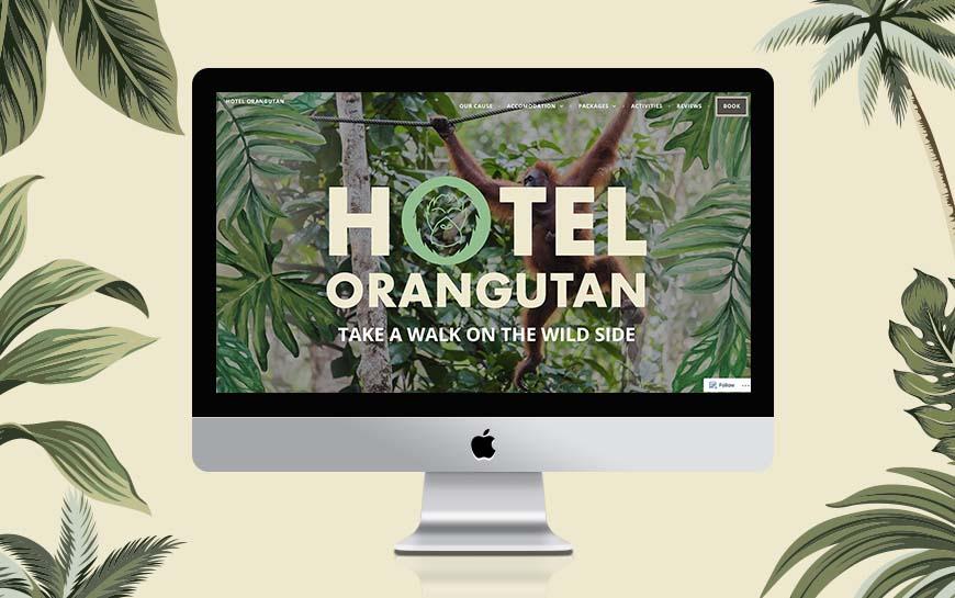 Hotel Orangutan Website