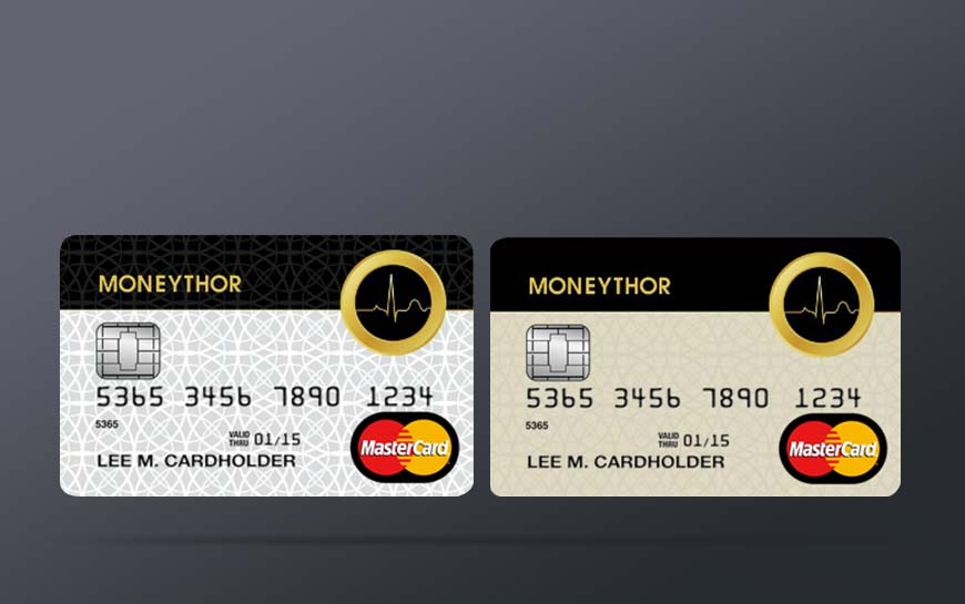 Moneythor Card Design