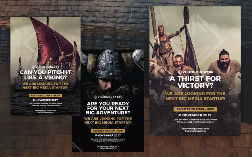 Vikingcubator Posters