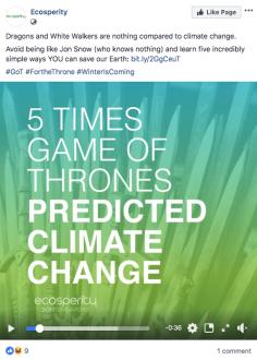 Ecosperity Game Of Thrones