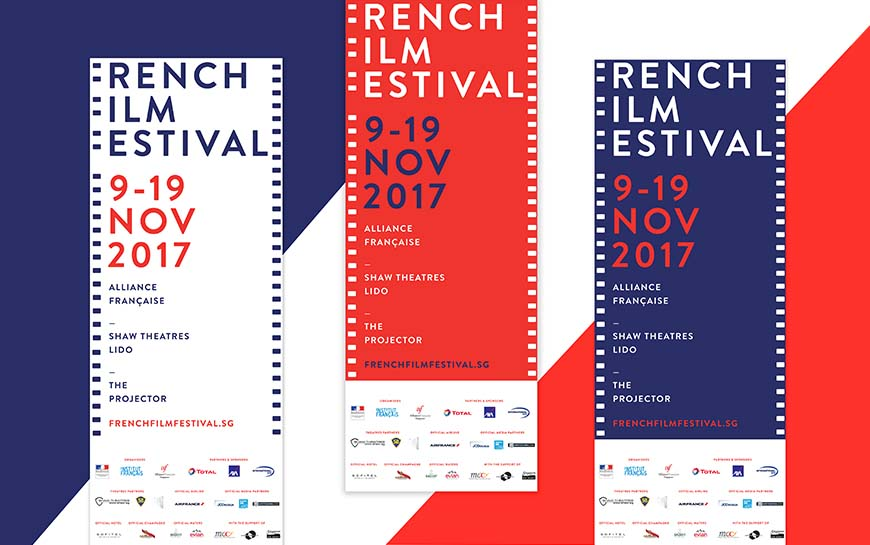 French Film Festival 2017 Pull up Banners