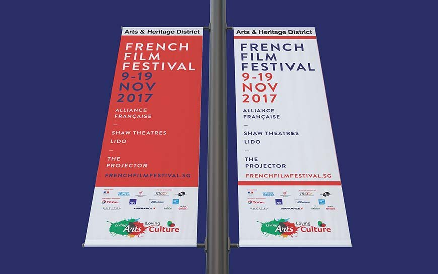 French Film Festival 2017 Street Banners
