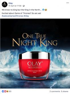 Olay One True Night King