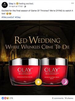 Olay Red Wedding