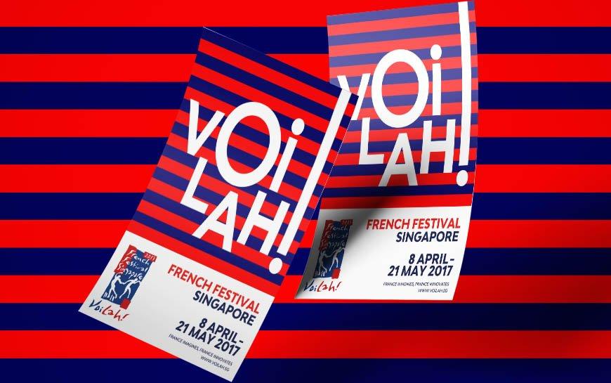 Voilah Singapore Festival 2017 Flyer