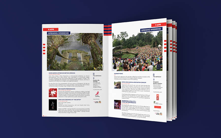 Voilah Singapore Festival 2017 Booklet