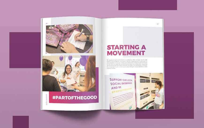 raiSE Singapore Annual Report Design