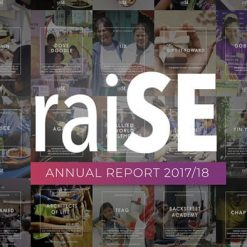 raise annual report 2018 social enterprise