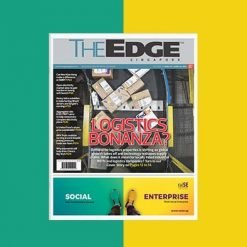 raise edge magazine advertisement design