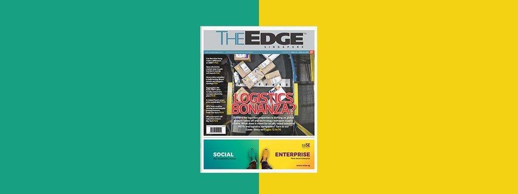 raise edge magazine advertisement design