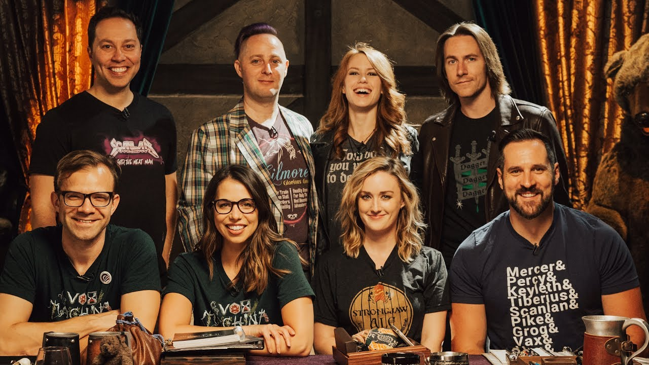 photo of the cast of Critical Role