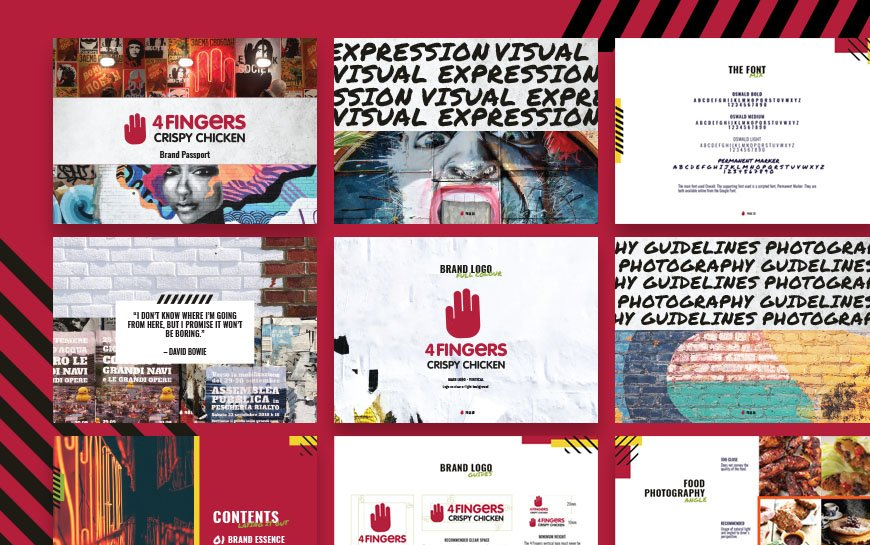 4fingers Brand Guidelines