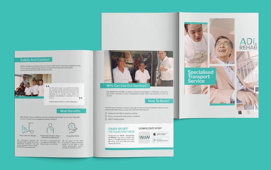 ADL Rehab Branding Brochure