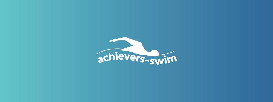 Achievers Swim Branding