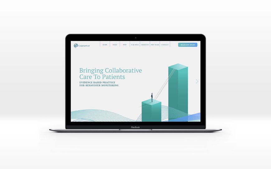 Cogniant automated patient engagement branding and website