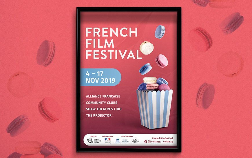 French Film Festival 2019 Branding