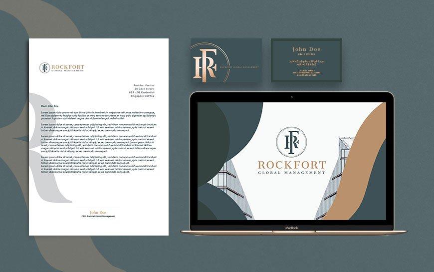 Rockfort Advisory Branding
