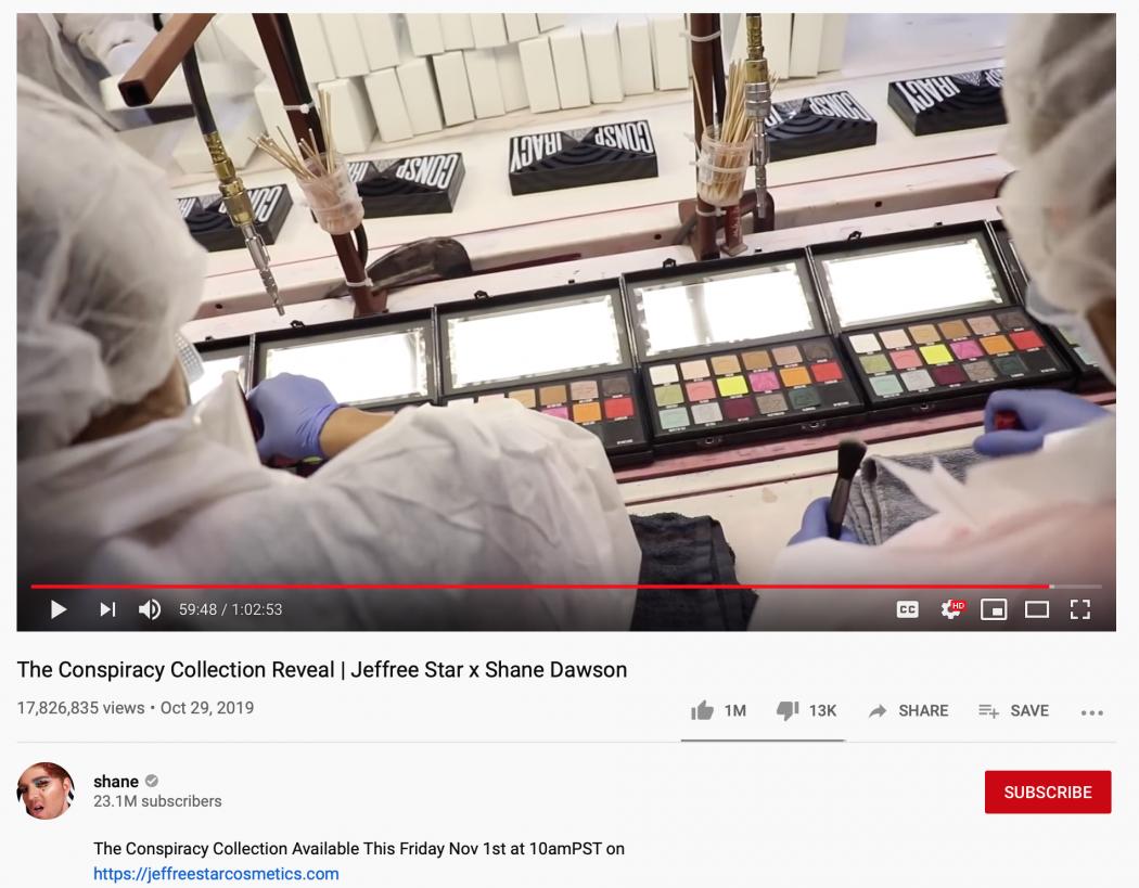 shane dawson youtube marketing