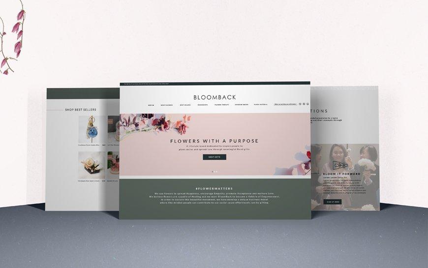 Bloomback Branding