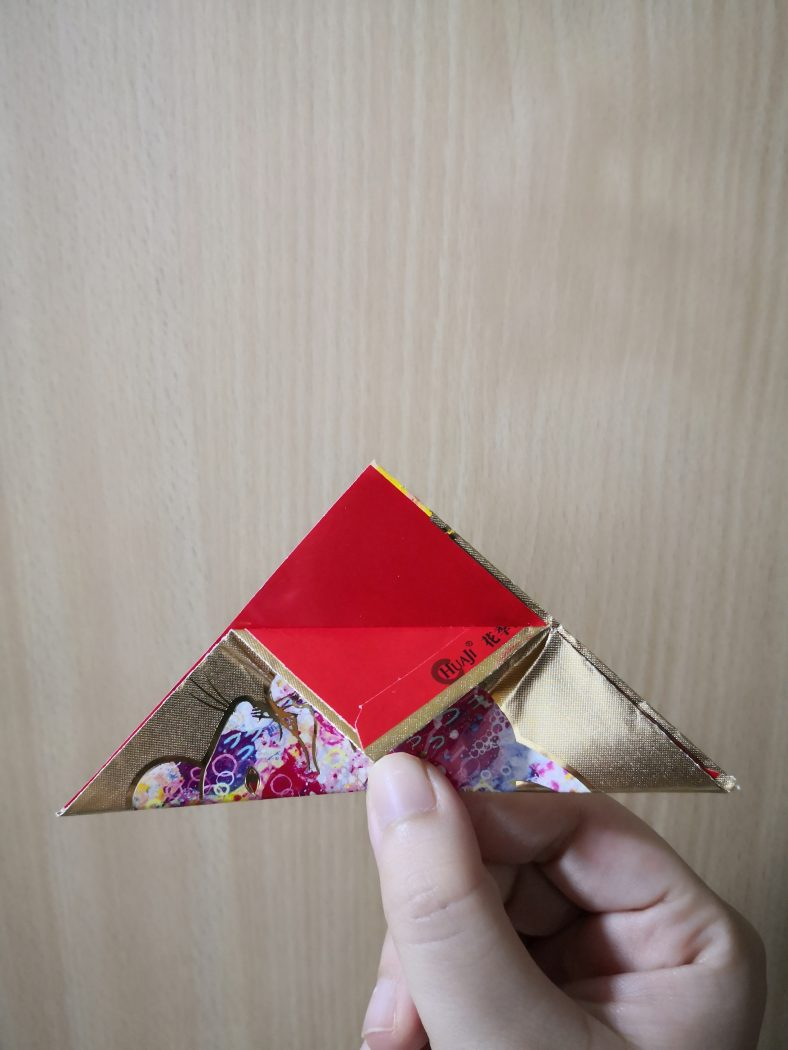 origami new year DIY