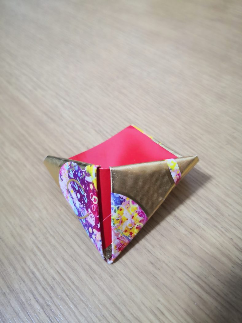 origami rat fold