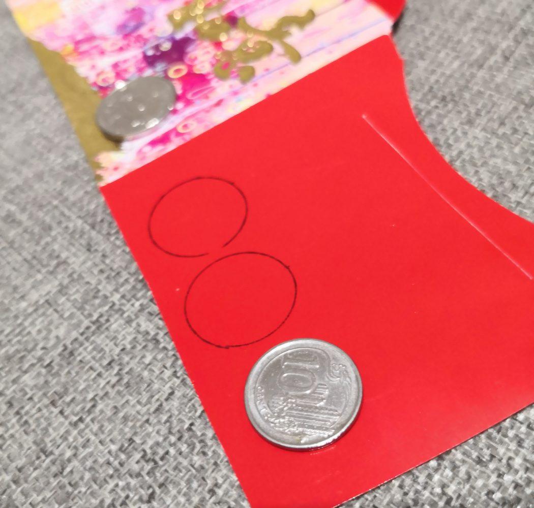 coin cutout