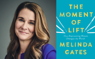 Book Review Moment of Lift by Melinda Gates