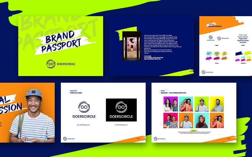 Doerscircle Branding Brand Passport