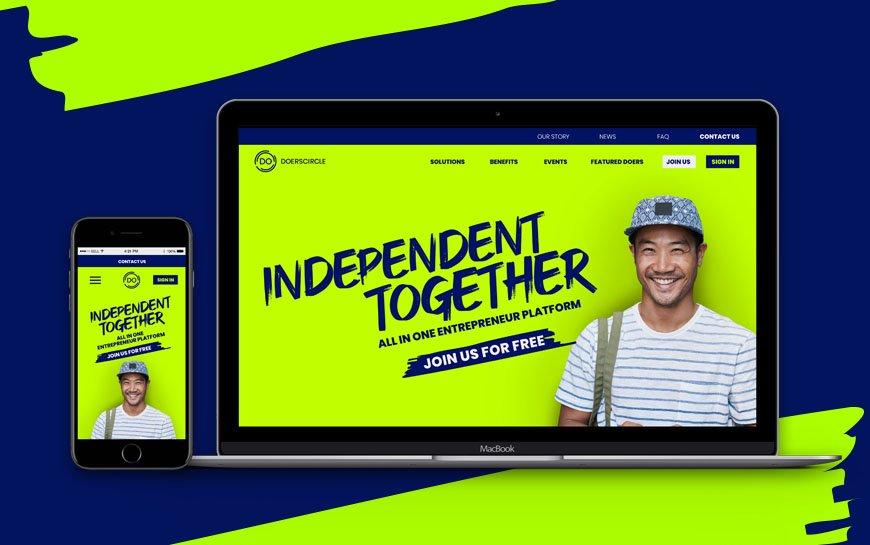 Doerscircle Branding Website