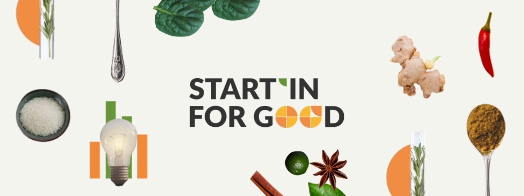 Startin For Good Food Innovation Partner Banner